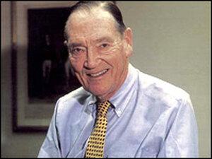 Vanguard founder John Bogle.