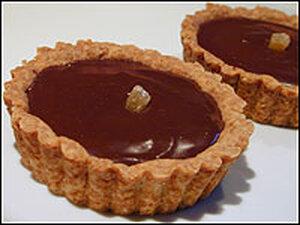 Chocolate Ginger Tartlets