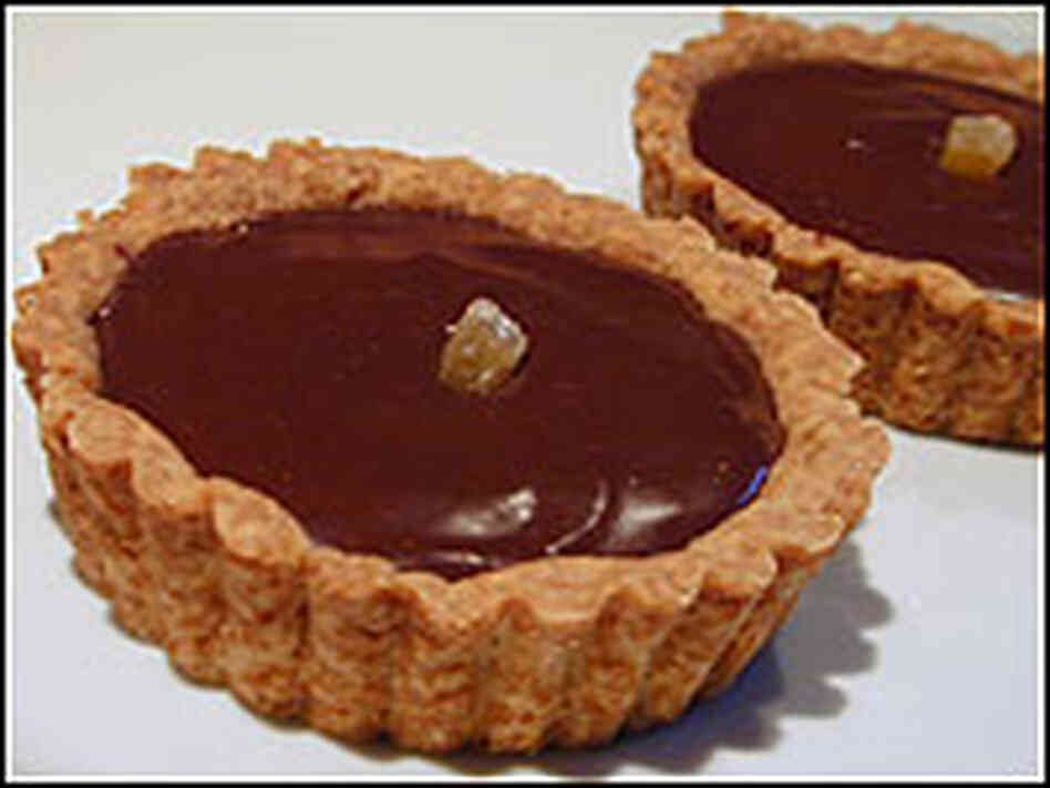 Chocolate Ginger Tartlets