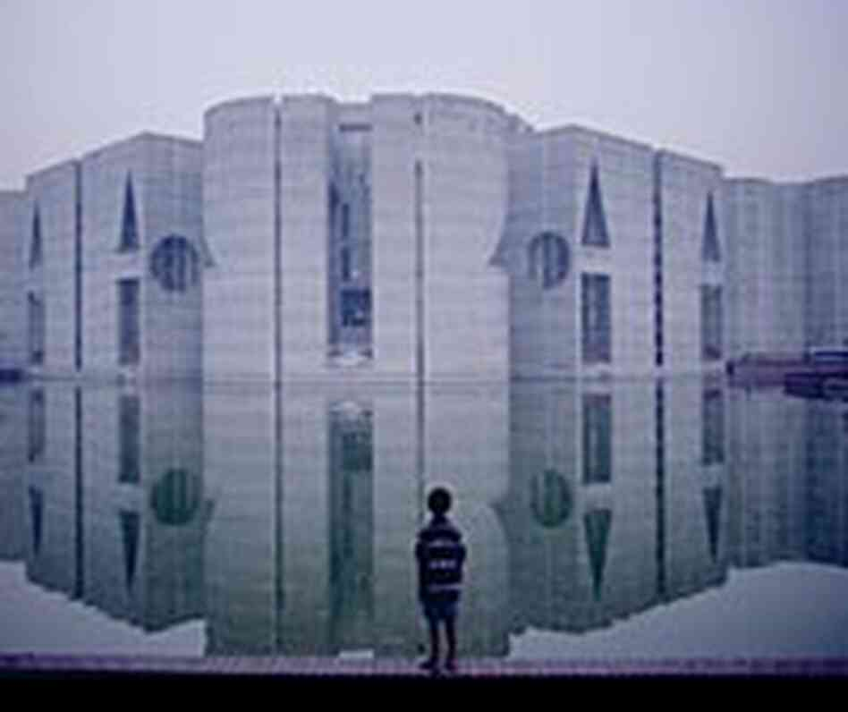 The capital building in Dhaka, Bangladesh.