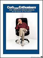 'Curb Your Enthusiasm: The Complete Second Season' DVD cover