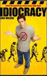 The DVD for 'Idiocracy'
