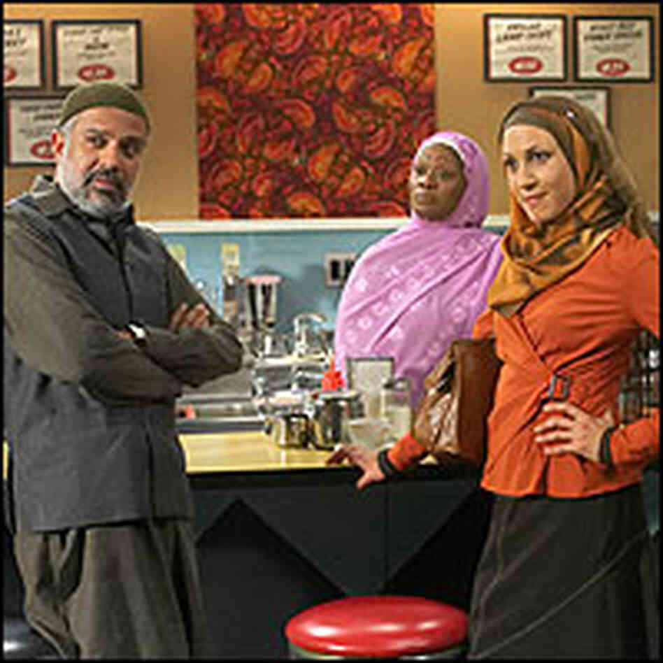 A scene from 'Little Mosque on the Prairie'