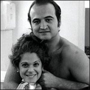 "John Belushi and Gilda Radner of ""Saturday Night Live"""