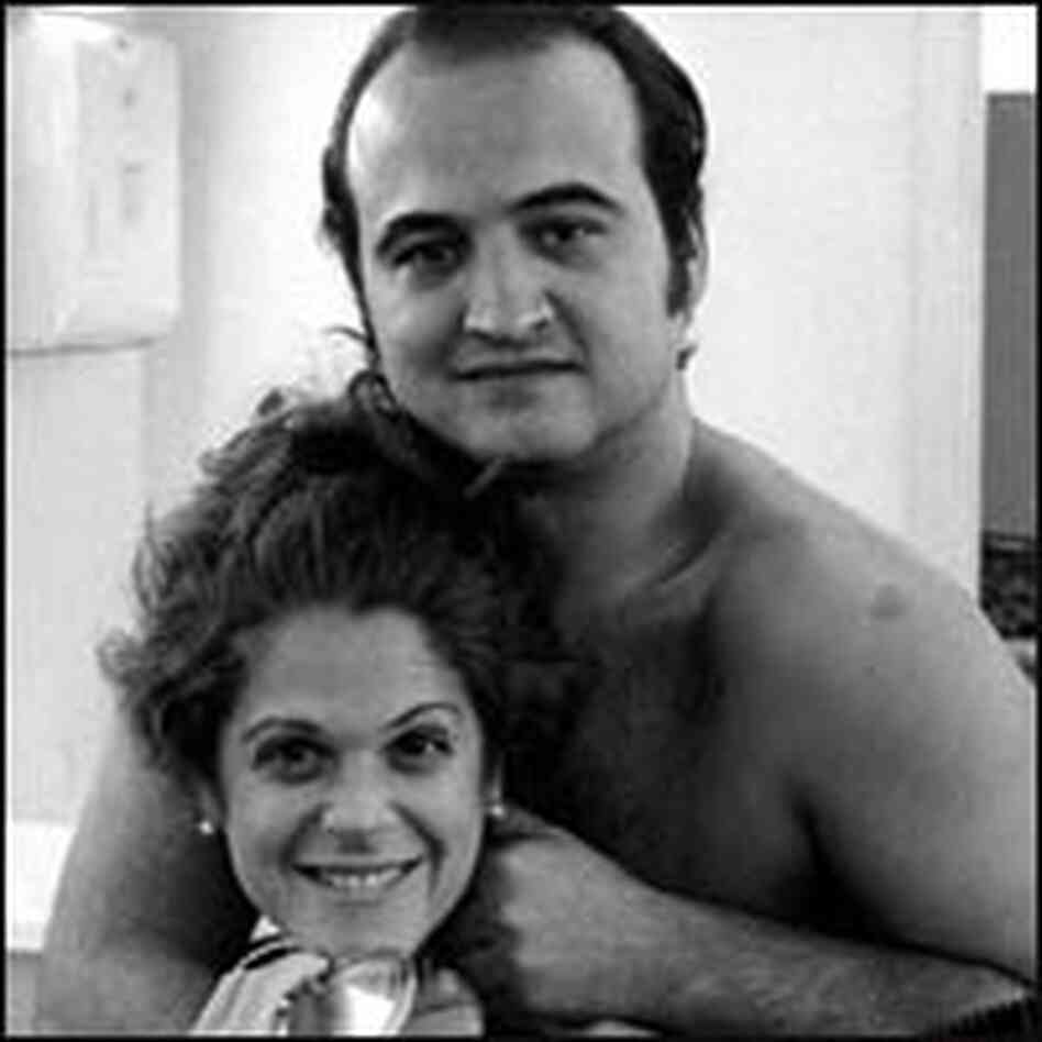 "John Belushi and Gilda Radner of ""Saturday Night Live"""