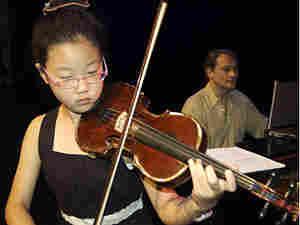 Violinist Yaegy Park