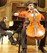 Cellist Patrick McGuire