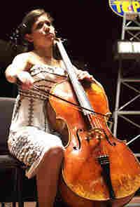 Cellist Jennie Brent