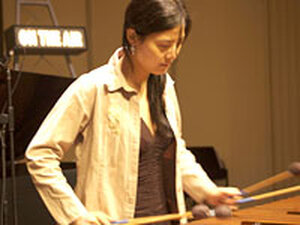 Percussionist Jinchen Sun