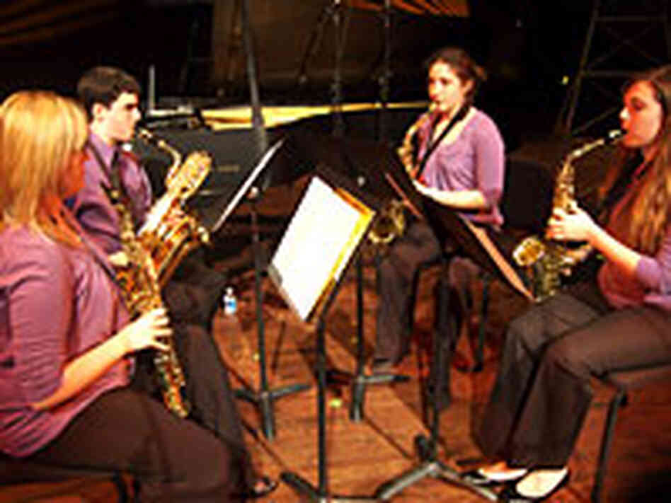 The What's Cookin' Saxophone Quartet