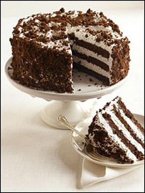 Cibo del diavolo bianco-Out Cake