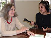 Kroc Fellow Roseanne Pereira interviews Pulitzer Prize-winning author, Marilynne Robinson in Birmingham, AL