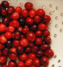 Cranberries, photo credit: Andrew Pockrose