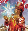 Bootsy Collins: Christmas is 4 Ever, album cover art: Emily Johnson