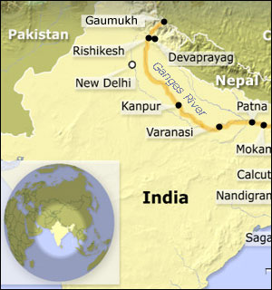 Ganges Map