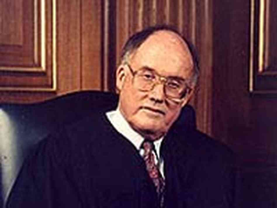Chief Justice William H. Rehnquist