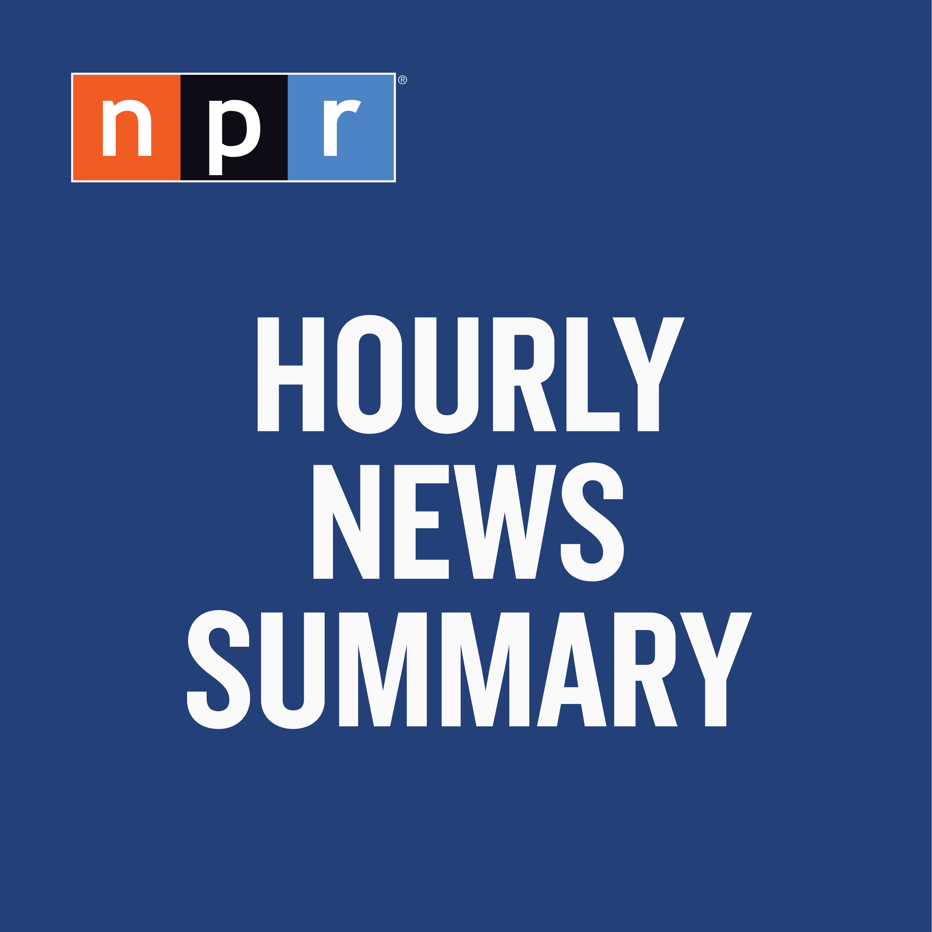NPR: Hourly News Summary Podcast