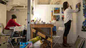 At This Studio Space For Artists, Every Day Is Take Your Kid To Work Day