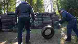 'A Metric Crap-Ton Of Tires' — Police Solve The Mystery Of D.C.'s Mountain Of Tires