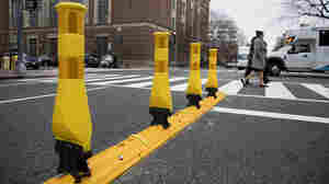 Will These Yellow Poles Help Protect Pedestrians From Deadly Left Turns? D.C. Hopes So.