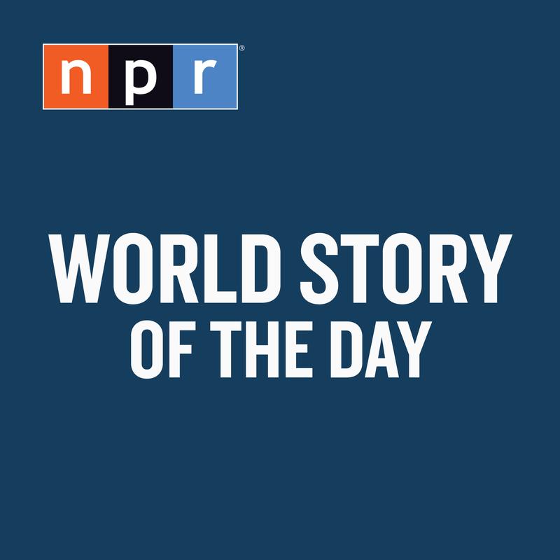 Npr Podcastlogo:  NPR 's World Story Of The Day : NPR