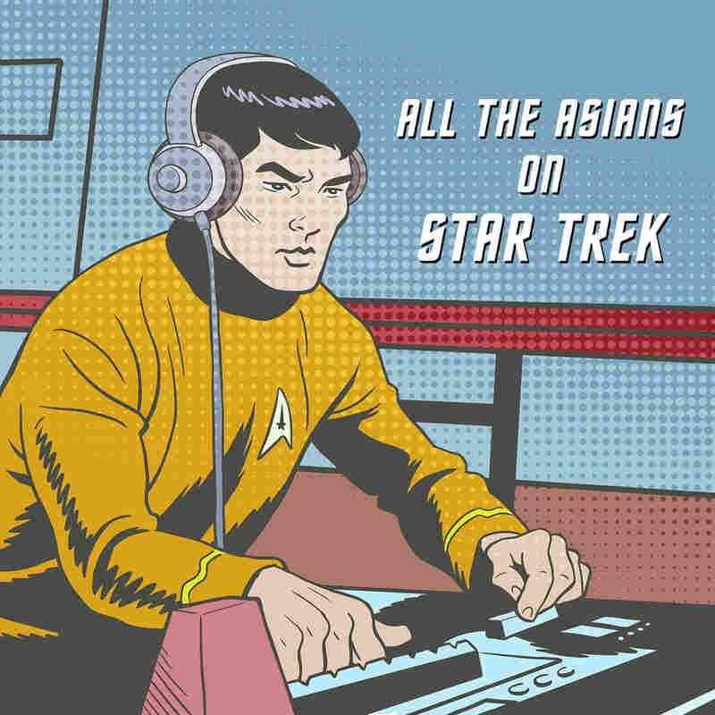 All The Asians On Star Trek