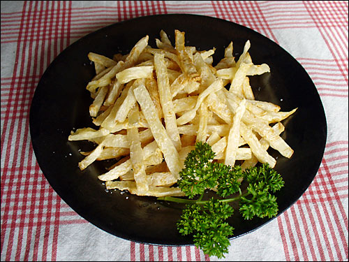 Celeriac French Fries