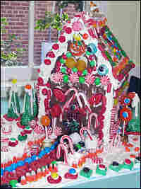 Completed Gingerbread House