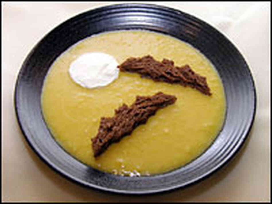 """You Must Eat This If You Want To Go Trick-or-Treating"" Squash Soup"