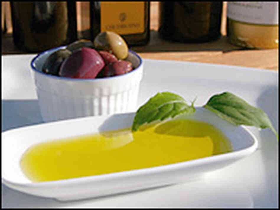 The ideal blend of olives is red-ripe olives and with a smaller amount of a different green variety