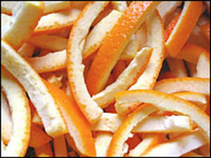 Making candied orange peel is a labor of love.