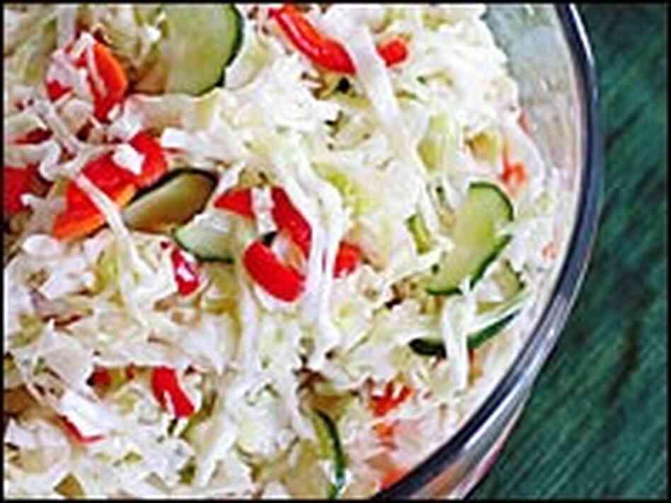 how to make pickled coleslaw
