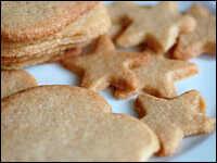Gingered sugar cookies