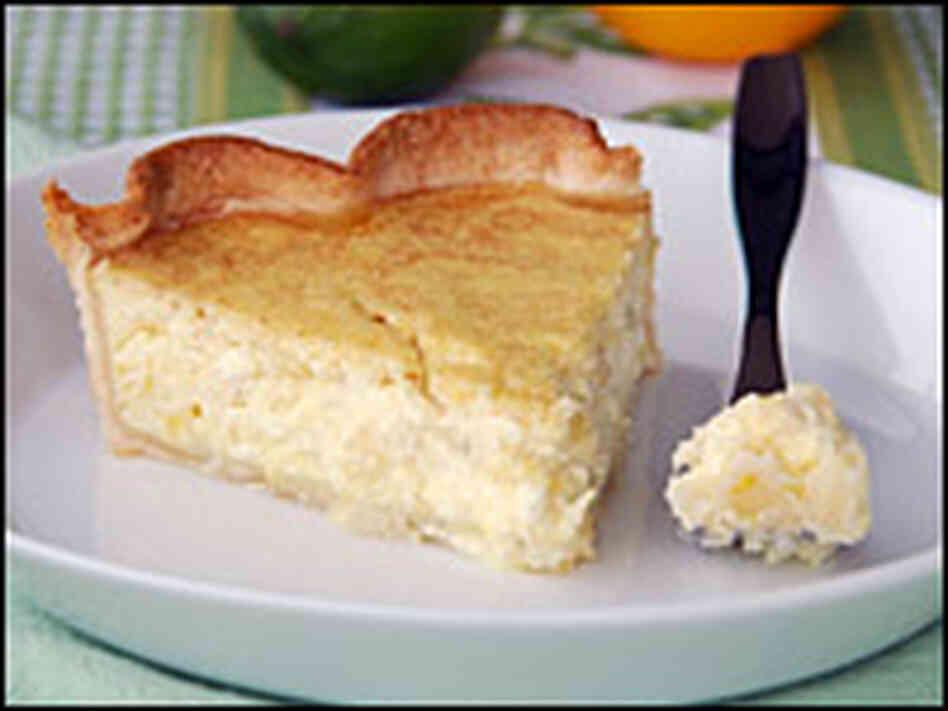 Ricotta Pie Recipe — Dishmaps