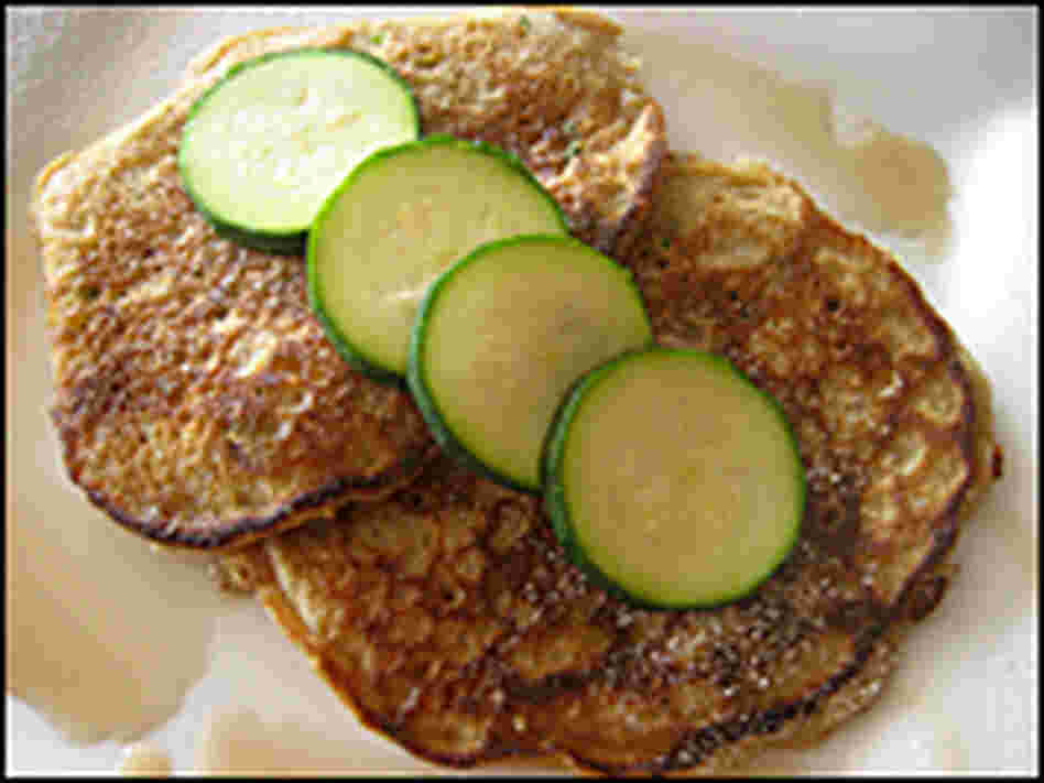 Whole Wheat Zucchini Pancakes