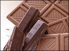 Chunks of chocolate