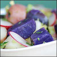 Patriotic Potato Salad