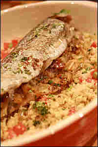 Date-Stuffed Fish