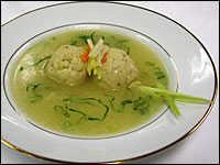 Lemongrass Matzo Ball Soup