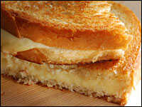 The Best Basic Grilled Cheese