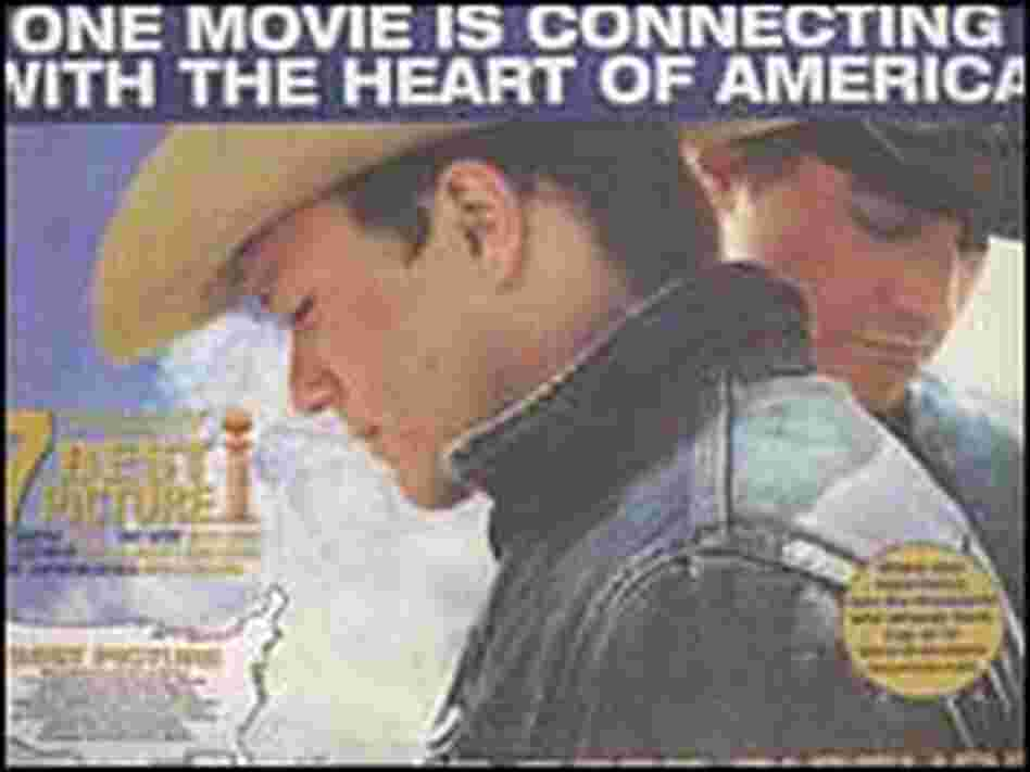 Ad for 'Brokeback Mountain'