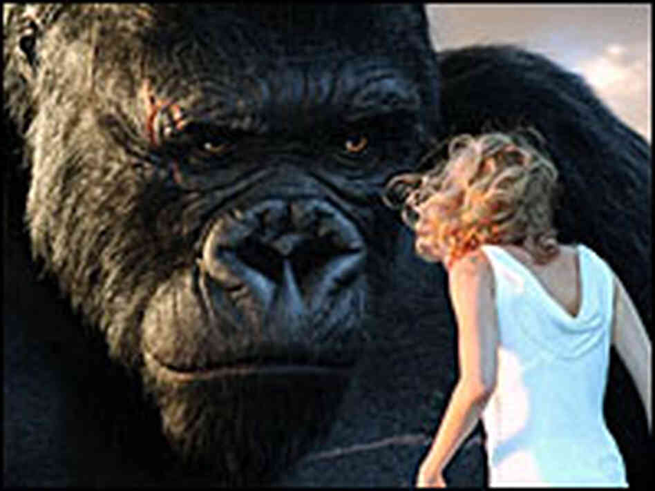 King Kong and Ann Darrow