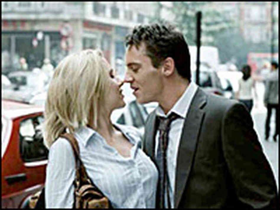 Scarlett Johansson and Jonathan Rhys-Meyers