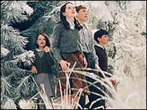 The Pevensie children encounter Narnia's wi