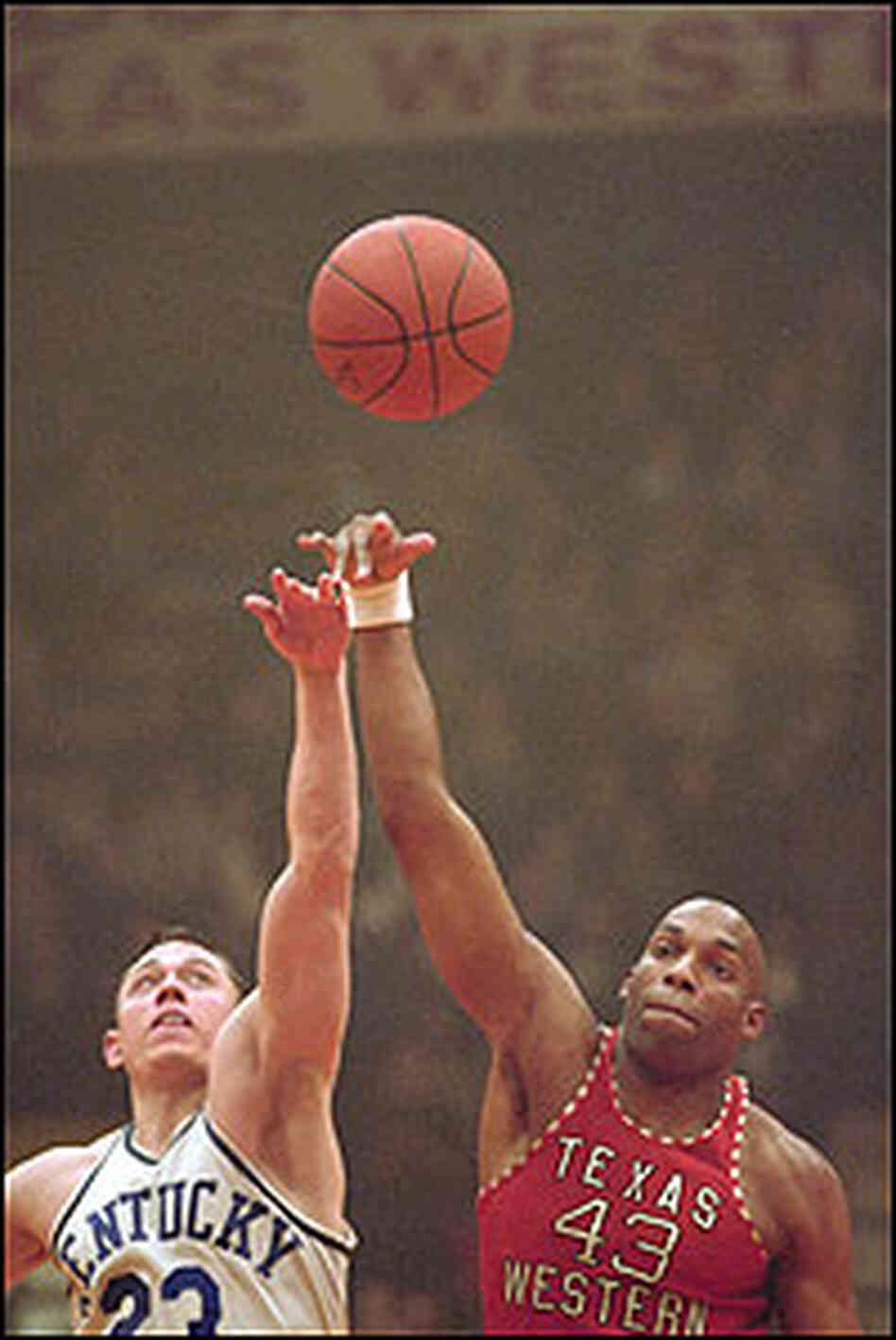 'Glory Road' Plays Fast and Loose with Facts : NPR