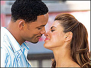 Will Smith and Eva Mendes in 'Hitch'