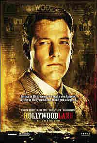 Ben Affleck on a poster for 'Hollywoodland'