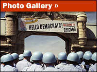 Photo gallery about the riots at the 1968 Democratic Convention in Chicago