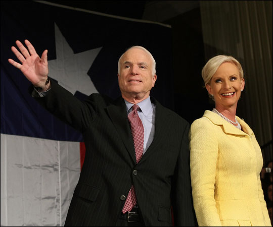 Cindy Hensley Mccain: Cindy McCain: Private Heiress And Philanthropist : NPR