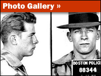 Whitey Bulger's arrest photos from 1953